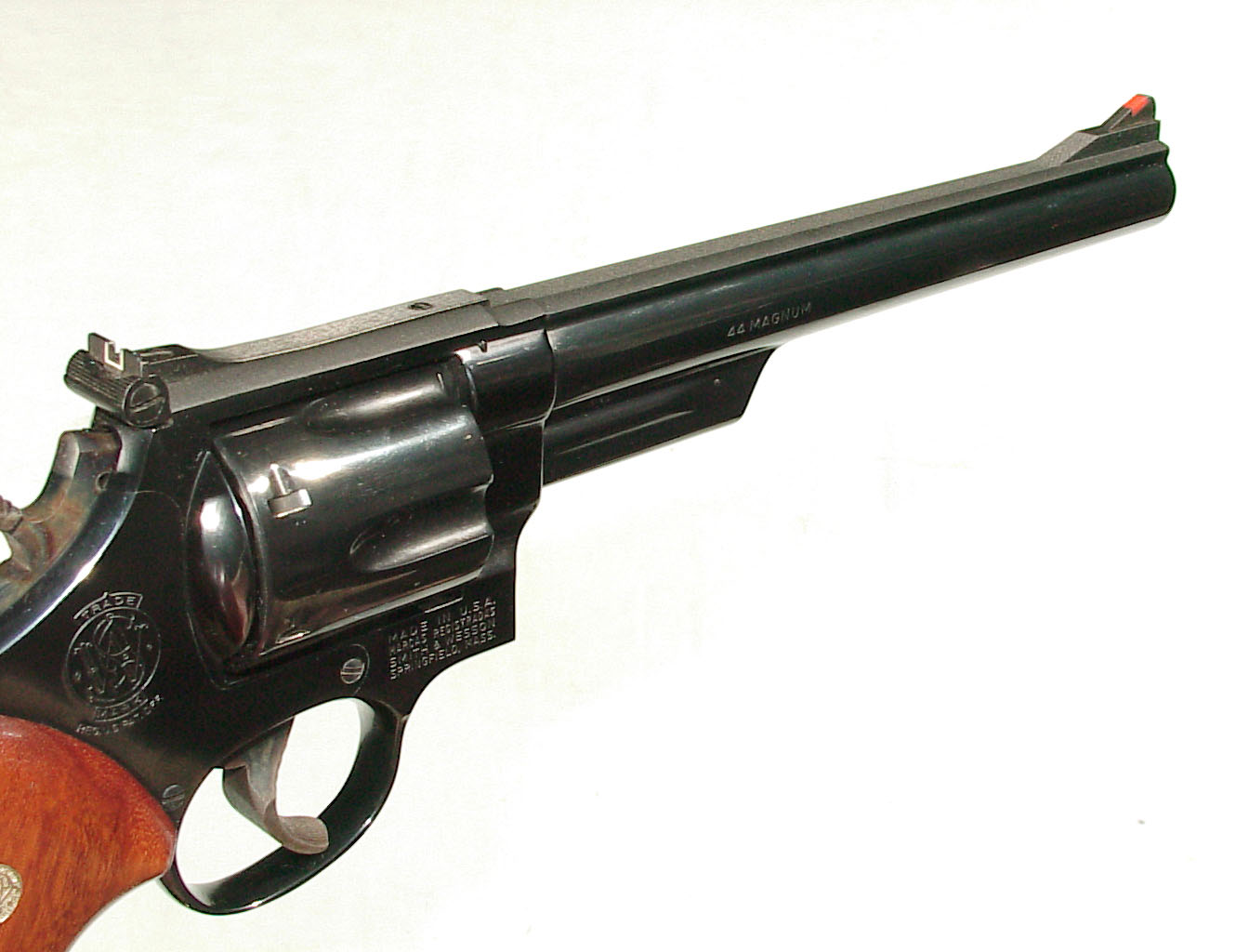 monty whitley inc s w model 29 revolver 44 magnum with factory box. Black Bedroom Furniture Sets. Home Design Ideas