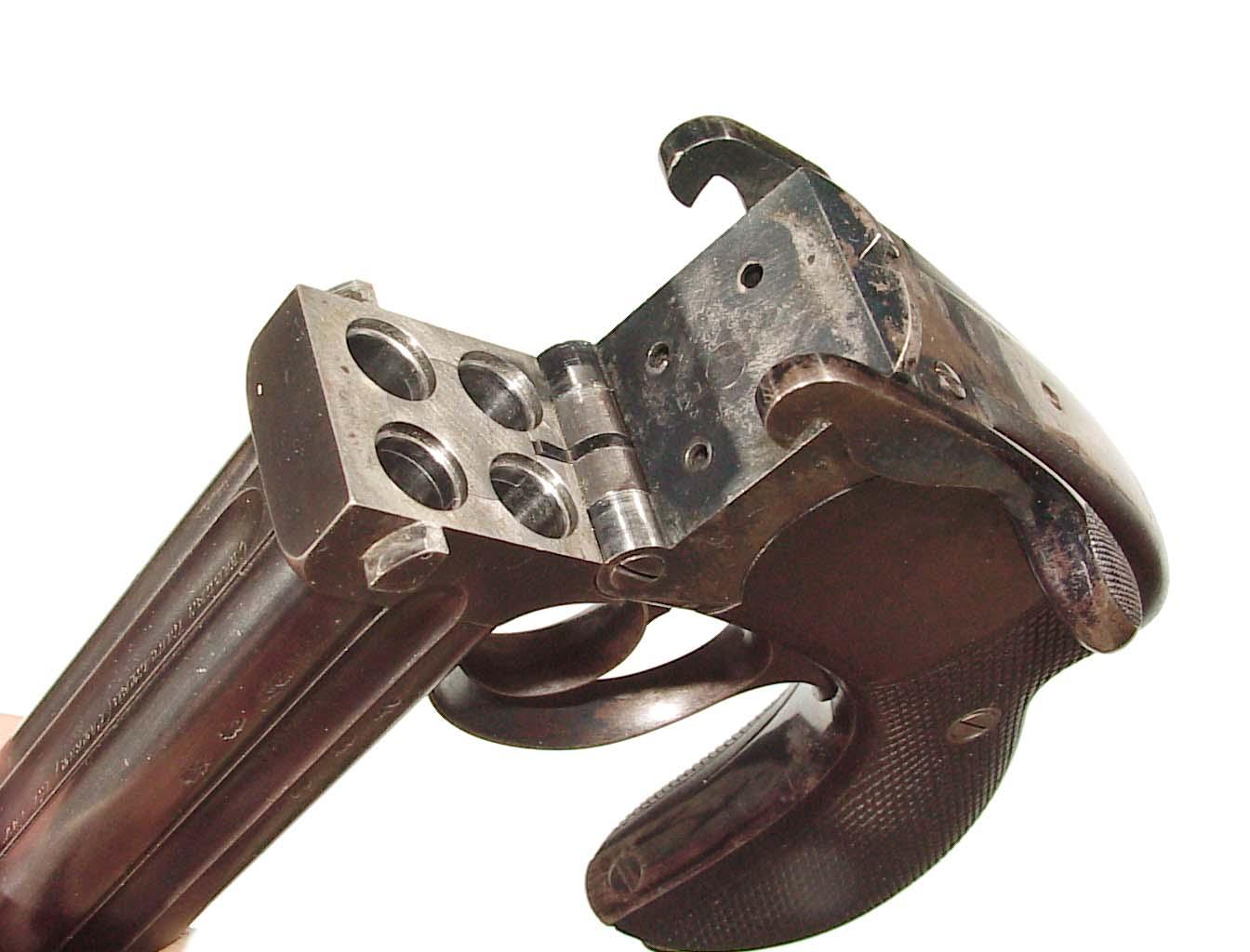 Monty Whitley Inc Charles Lancaster 4 Barrel Pistol In