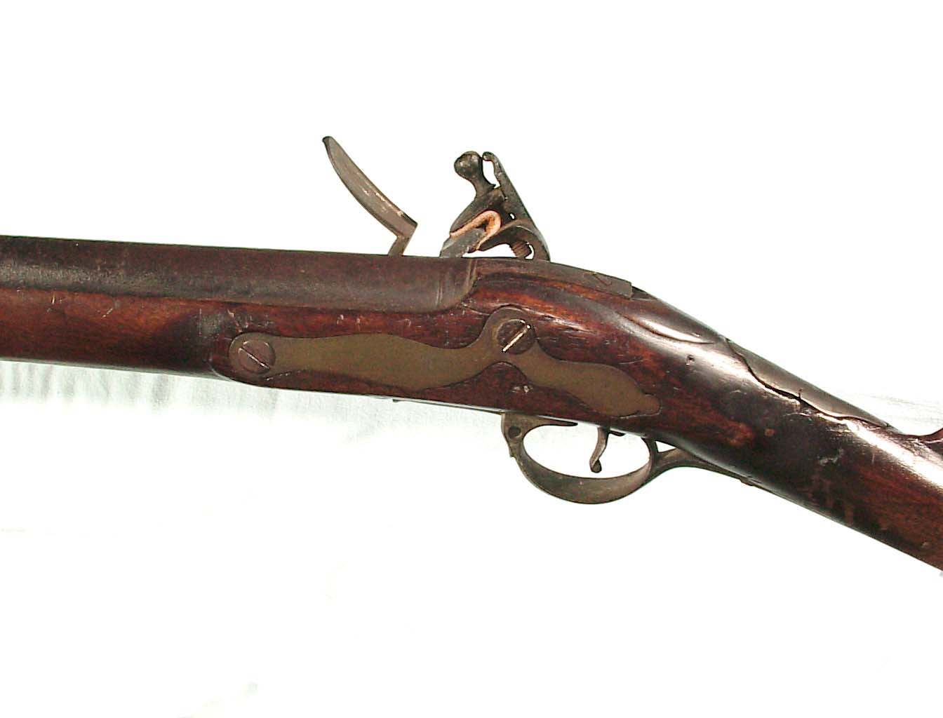 BRITISH 2ND MODEL {1777 PATTERN} BROWN BESS MUSKET