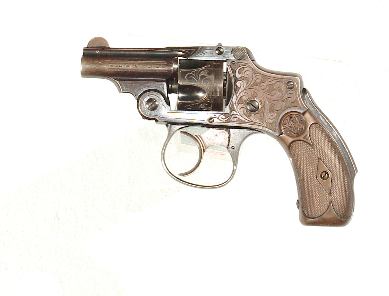 """PAIR OF ENGRAVED S&W NEW DEPARTURE """"BICYCLE MODEL"""" REVOLVERS"""